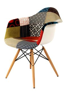 hmmm.... interesting style. i kinda like it! Eames Shell Fabric Arm Chair