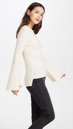 Not too bulky and great accent sleeves !