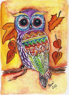 'Owl' by Petidaubner