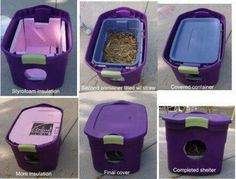 Diy insulated dog house ( great for stray dogs and cats in the cold months )
