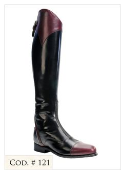 La Mundial Custom-fit Flex Styled Boots (Hunter/Jumper), Style #121. Love it!!!
