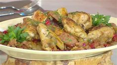 This easy pan-roasted chicken with sausage is a great weeknight meal