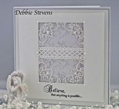Nice use of a lacy border edge die