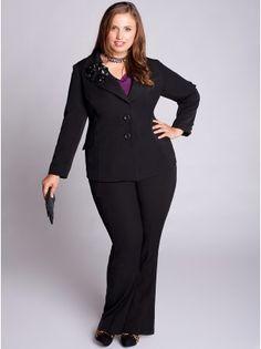 f8d2b6f3ef7 Monroe Plus Size Jacket - Sale Rack by IGIGI  118.99 Business Attire