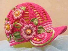 Galería: Los Gorros Tejidos más Divinos | CTejidas [Crochet y Dos Agujas]