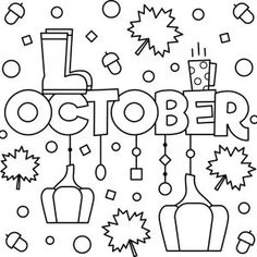 Month coloring pages Printables Archives - Page 2 of 6 - Thrifty Mommas Tips New Year Coloring Pages, Spring Coloring Pages, Cute Coloring Pages, Printable Coloring Pages, Adult Coloring Pages, Coloring Sheets, Coloring Pages For Kids, Free Coloring, Coloring Books