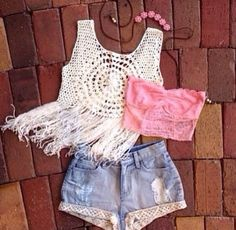 Hippie Chic Summer Outfit
