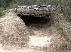 Chaco War Bunker - Paraguay.