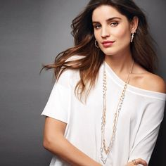 Sparkling links long necklace Both colors included (separate necklaces). Long necklace with chain links. Avon Jewelry Necklaces