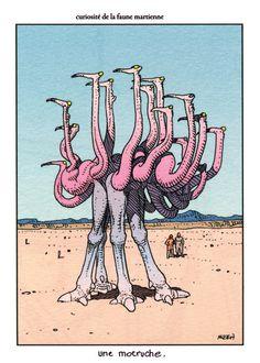Faune de Mars - Moebius
