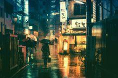 Tokyo by night; Photo : Masashi Wakui