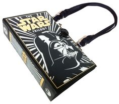 The Star Wars Trilogy Book Purse - handmade