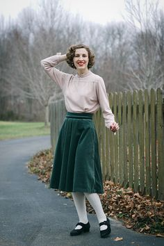 What I Made // 1940s Sportswear Separates