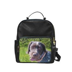 Dog and Flowers Campus backpack/Large. FREE Shipping. FREE Returns. #lbackpacks #dogs