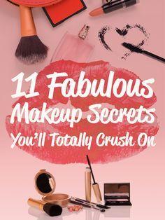 11 Fabulous Makeup Secrets You'll Totally Crush On (scheduled via http://www.tailwindapp.com?utm_source=pinterest&utm_medium=twpin&utm_content=post138653169&utm_campaign=scheduler_attribution)