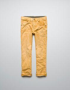 58901ef74d COLOURED JEANS - Jeans - Boy (2-14 years) - Kids - ZARA