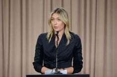 Sponsors have begun terminating ties with Russian tennis champion Maria Sharapova after she made a surprise announcement that she failed a drug test and would take a hiatus from the sport. Maria Sharapova, Star Test, Tennis World, Caroline Wozniacki, Sports Channel, Shocking News, Tennis Stars, Drug Test, 28 Years Old