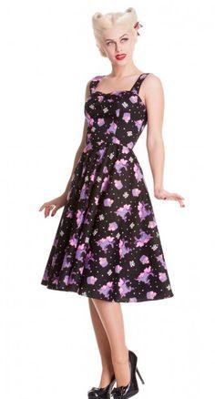 4e08a39e46e82 Mystical 50 s Dress - Curvy - Womens