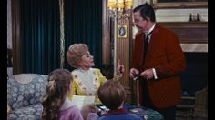 "Mr. & Mrs. Banks, in a chaotic home, in need of ""Practically Perfect In Every Way, "" Mary Poppins!"