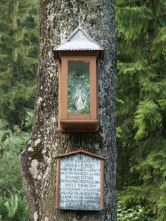 Zakopane, Poland: roadside shrine