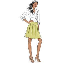 B5613 Misses' Skirt & Sash | Very Easy
