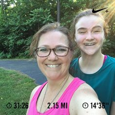 Ran 2.15 miles with Nike+ Run Club  Did #c25k w my 15yo and let her set the pace. Proud of her for finishing when she wanted to give up! #500milesin2017 #RunLikeAMom #fitmom #fitfam