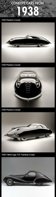 Concept cars from 1938… (1 of 2)