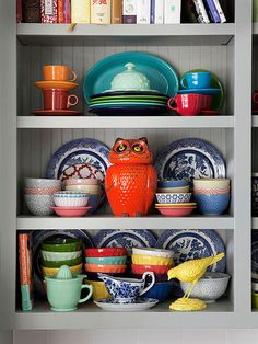 """The dinner plates --blue and white---I think my grandmother had dishes like these and the pattern may be """"Blue Willow""""?"""