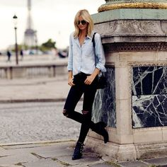 How to Wear Boots with Jeans | StyleCaster