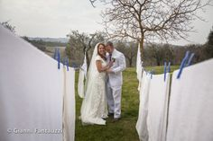 Simply pure love, this is what i felt when I was capturing this picture of the just married Kim & Lance. Just like those hanging to dry white bed sheets at Villa Scopetello, Simply pure!!