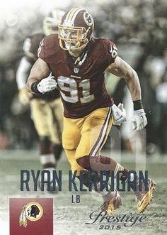 2015 Panini Prestige  56 Ryan Kerrigan Front Redskins Baby 6cd6da68c