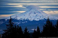 Sunset and Cloud Cap on Mt. Hood Blaine Franger