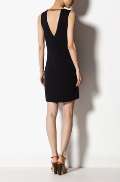 Massimo Dutti Dress with Back Detailing