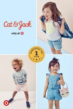 From pops of color to playful prints, this spring will be fresh and oh-so cute with Cat & Jack.