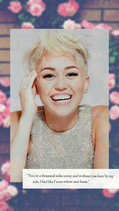 Miley Cyrus Wallpaper Tumblr Iphone Hannah Montana Malibu New Album New Song Queen is back Smilers Smiler Fan Fans Rose Pink Concepts Smile