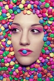 Workshop for teenagers to get insight to a photoshooting and act as a model. Land Girls, Candyland, Face Art, Woman Face, Septum Ring, Creative, Bury, Photography, Photos