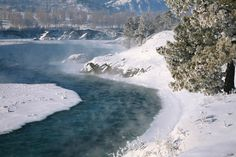 winter river, photo: Andrey Kochkin