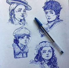 Anne with an E art Gilbert Blythe, Daughter Of Smoke And Bone, Amybeth Mcnulty, Gilbert And Anne, Anne White, Anne With An E, Arte Sketchbook, Anne Shirley, Cute Drawings