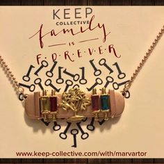 Family. Is. Forever. #armcandywithpurpose www.keep-collective.com/with/marvartor