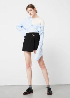 Shorts met gesp | MANGO