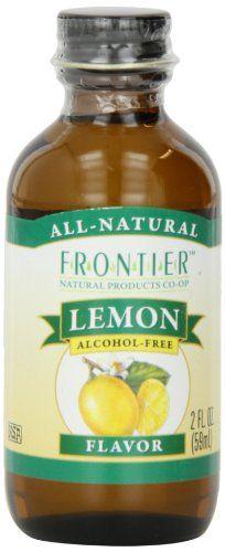 Frontier Lemon Baking Flavor Bottle (Pack of Alcohol Free, Baking Ingredients, Image Link, Lemon, Amazon, Bottle, Check, Food, Amazon Warriors