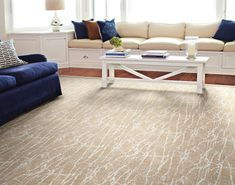 Sound Waves by Stanton is a carpet made with a combination of polyester and polypropylene fiber. Wall Carpet, Rugs On Carpet, Carpets, Stanton Carpet, Sound Waves, Apartment Living, Living Room, Carpet Runner, Area Rugs