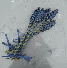 Lavender Wands  Navy Blue Large by Pedricks on Etsy