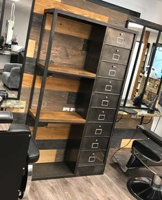 home decor eclectic Countertops industrial style warehouse layout Law Office Decor, Corporate Office Decor, Home Office Design, Industrial Bedroom Furniture, Basement Furniture, Home Decor Furniture, Furniture Ideas, Metal Furniture, Warehouse Layout