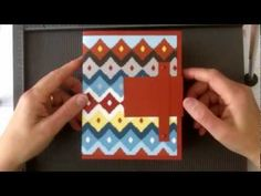 Stampin' Up Card Express Card Box for your Handmade Cards! - YouTube