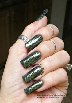 Darling Diva Dark Ritual, Nicole by OPI Mer-Maid for Each Other, Bundle Monster BM XL18 stamp