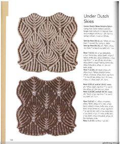 Knitting Fresh Brioche(3) - 木棉花 - 雨茫茫,雾茫茫,盼望花开,花已落……