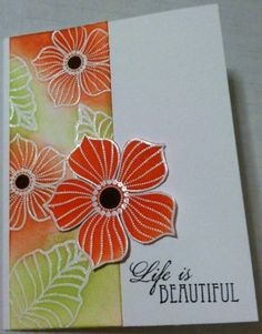 Petal Party by prairiecrafter - Cards and Paper Crafts at Splitcoaststampers