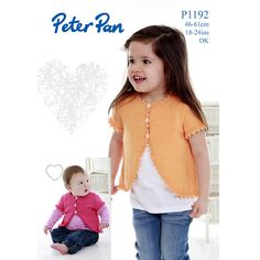 NobleKnits.com - Peter Pan DK Girls Flared Bolero Knitting Pattern P1192 PDF, $5.95 (http://www.nobleknits.com/peter-pan-dk-girls-flared-bolero-knitting-pattern-p1192-pdf/)