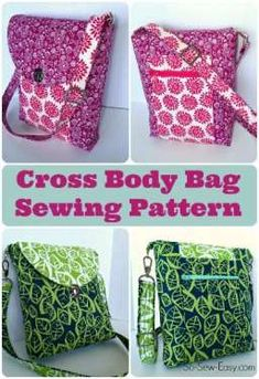 30 + of my favorite bag, tote, wallet and purse patterns to sew. All free sewing patterns for a wide variety of different bag and purse patterns. Bag Patterns To Sew, Pdf Sewing Patterns, Free Sewing, Purse Pattern Sewing, Free Tote Bag Patterns, Messenger Bag Patterns, Messenger Bags, Sewing Hacks, Sewing Tutorials